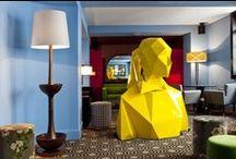 Style Atelier d'artiste / L'art est partout dans ces intérieurs, et il met en valeur l'œuvre plus que le mobilier