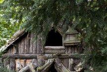 Lodge,Constructions bois de luxe / Le bois ce matériau vivant présente des qualités exceptionnelles, on le retrouve d'ailleurs dans des maisons d'exception