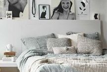 Bedrooms: easy decoration! / Usually from scratch, we come up with original ways to rearrange bedrooms, make them homy, and at a very low price!