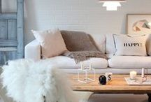 Living Room: easy decoration! / You don't necessarily have a big budget, or a lot of space... Have a look at what we do, you might find some tips here!