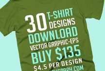 Adventure T-shirt Collection / 50 t-shirt designs vector graphic eps. Download.