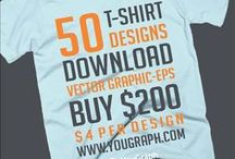 Western T-shirt Collection / 50 t-shirt designs vector graphic eps. Download.