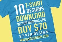 Nautical T-shirt Collection / 10 t-shirt designs vector graphic eps. Download.