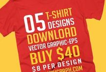 Religious T-shirt Collection / 05 t-shirt designs vector graphic eps. Download.