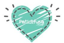 Logos Patidifusa / Porque personalizamos todo, también nuestra imagen acorde al tiempo, fecha señalada o para celebrar lo contentas que estamos.