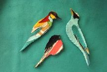 Crafts & handmade / painted jewellery, martisoare, origami cards