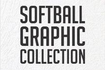 Softball Graphic Collection