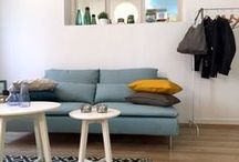 Rêve Parisien - Cute studio in Budapest / Latest studio we designed. Small but very bright, perfect for a single person!