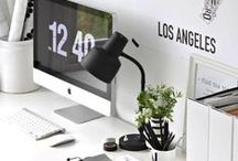 Office Decoration / We spend so much time sitting at our desk but it doesn't have to be boring. Here're some ideas!
