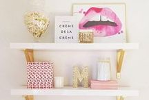 Amazing shelves / How to save space while making your room beautiful! #shelves