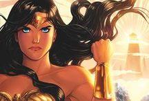 Women Drawing Wonder Woman / Women artists who've drawn Wonder Woman in her own comic.