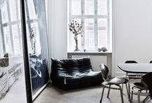 SCANDINAVIAN/NORDIC / Functionalism and simplification of forms, use of natural materials (wood, leather, hemp), pared back style that is centred around warm functionality, clean lines