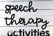 Speech Therapy Activities / speech therapy activities and speech therapy ideas for articulation, phonology, apraxia, receptive language, expressive language. Pinners: please limit to 3 pins per day, long pins are preferred.