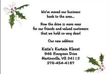 Business Invitations Announcements Cards / Find corporate, company, and business invitations announcements stationery cards for all your exclusive and creative business stationary needs at CardsShoppe