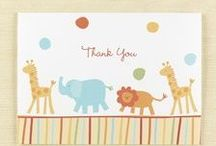 Thank You Note Cards / All you ever wanted to know about thank you notes and where to find creative and printed thank you cards at CardsShoppe for all special occasions from anniversaries to weddings.