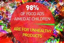 """Food Marketing & Advertising / Do kids these days just want to eat junk food? Are the advocates promoting healthy, whole foods really """"food nannies"""" trying to force people to eat their broccoli? Big Food says that the junk food they deliver—Big Macs, Coca-Cola, Pepperoni Pizza—is just giving us what we all really crave. Kale? Carrots? Quinoa? Hippie-food peddled by the """"food police,"""" they say. But if this is true, then why does the food industry spend billions every year to get us to eat and drink the stuff they make?"""