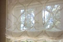 Magnolia Lane Roman Shades / Custom Fabrication by Magnolia Lane Soft Home Furnishings, Inc.
