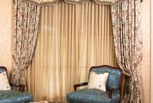 Magnolia Lane Valances/Lambrequins / Custom Fabrication by Magnolia Lane Soft Home Furnishings, Inc.