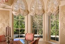 Magnolia Lane Arched/Curved Windows / Custom Fabrication by Magnolia Lane Soft Home Furnishings, Inc.