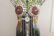 Planetj9 Mosaic Sculptures