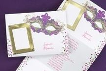 Mardi Gras Party Invitations / Most creative Mardi Gras invitations for all your Mardi Gra parties and celebrations. All unique invitations are .99 cents each for limited time only.