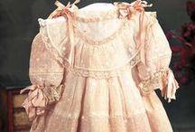 Antique dolls DRESSES ideas
