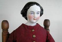China head dolls