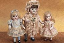 Antique dolls - little ones