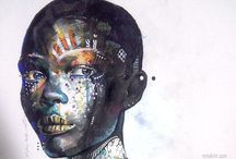 african art / Inspiration for project