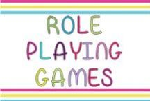 Role playing games / Props and ideas for pretend play - ages 2-7.