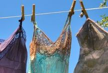 Paintings  :  Laundry