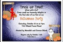 Halloween Party Invitations / Find lots of totally unique and scary Halloween invitations online. Lower your cost with our free Halloween party invitation cards and free shipping.