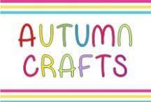 Autumn crafts / Autumn crafts for kindergarteners.