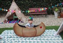 native american kids party