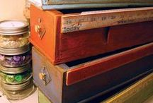 Think outside of the box (dresser)….. / Repurpose -  Alternative  ways of using a traditional piece of furniture ….