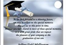 High School Graduation Announcements Invitations / Shop from the biggest collection of graduation announcements for high school commencement and high school graduation invitations for graduating ceremony and find the most popular, stylish, unique, and trendy graduate stationery designs. Use the patented customize and instant preview features to ensure your school graduation announcements for commencements and graduating invitations for ceremonies are perfect. Add at graduate photo and your own wordings and sayings to ensure total uniqueness.