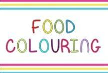 Food Colouring / Sensory play, game ideas, and other things you can do with food colouring.