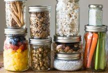 F O O D // Mason jar <3 Food \\ / Mason jars // food storage // food prepping