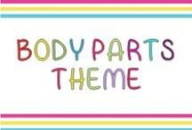 Body Parts Theme / Activities for kindergarteners
