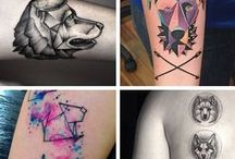 pet inspired tattoos. / Taking the memory of your best buddy everywhere you go.