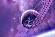 Purple Passion / Be eccentric now.  Don't wait for old age to wear purple.