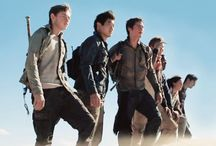 """THE MAZE RUNNER SERIES / """"Be careful, don't die."""" """"Great, we're all bloody inspired."""""""