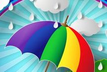 Rainbows / Arcs-en-ciel / The greater your storm, the brighter your rainbow.