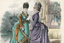 Bustle Era Victorian Fashion (1870 - 1889)
