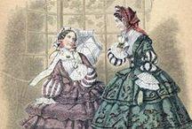 Hoop Era Victorian Fashion (1850-1869)