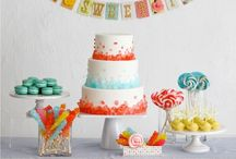 Party {Sweet Shoppe / Candy} / Craft DIYs and inspiration for all things related to a  sweet shop/candy party theme!