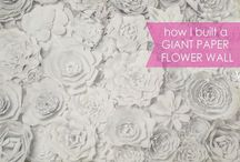 Crafty: {flowers} / Craft DIYs and inspiration for all things flowers!