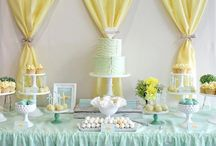 Party {sweets tables love} / inspiration for all things related to sweets tables/dessert tables and set ups!