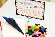 Party {Airplane} / Craft DIYs and inspiration for all things related to an airplane party theme!