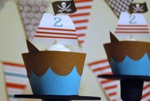 Party {pirate} / Craft DIYs and inspiration for all things related to a pirate party theme!